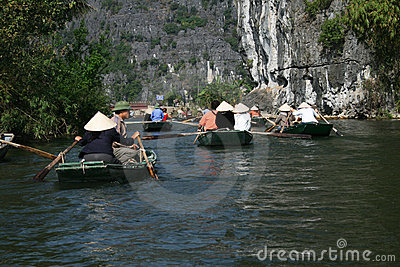 Tam coc Editorial Stock Image