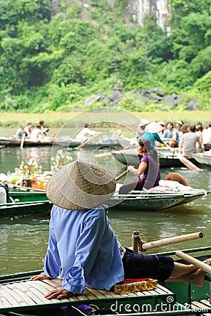 Tam Coc Natioanl Park Editorial Image