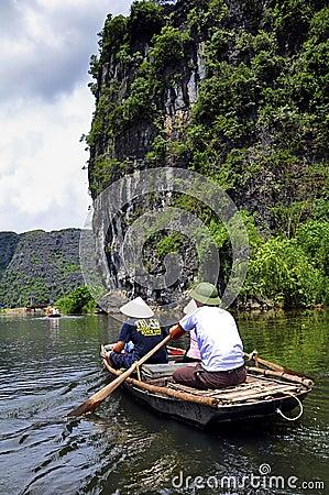 Tam Coc, Vietnam Editorial Image