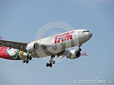 Tam Linhas Aereas Aircraft Editorial Photography