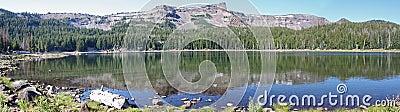 Tam McArthur Rim from Three Creek Lake