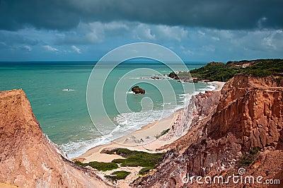 Tambaba Beach in Brazil
