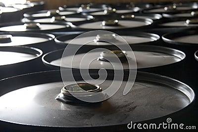 Tamburi di olio