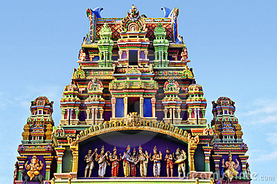 Tamil Temple Stock Photo Image 757340