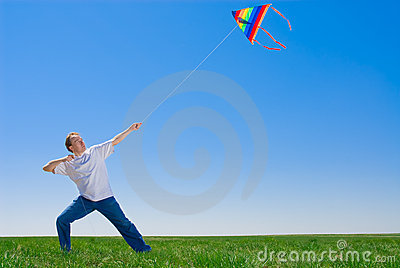 Taming of a kite