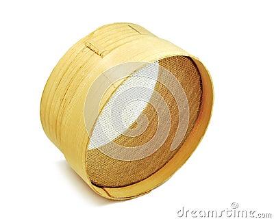 Tamiz de madera