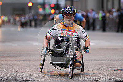 Tammy Duckworth Marathon athlete politician Editorial Photo