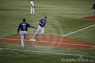 Tampa Bay Rays at Toronto Blue Jays Editorial Image