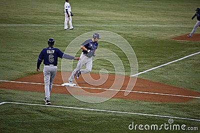 Tampa Bay Rays at Toronto Blue Jays Editorial Image
