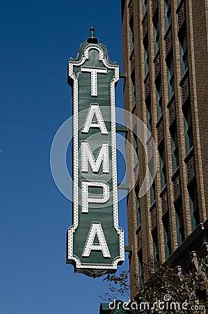 Free Tampa Sign Stock Photos - 4215493