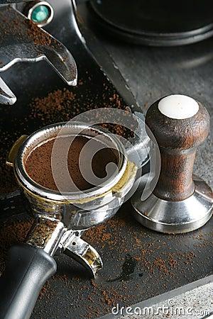 Free Tamped Espresso Bayonet Stock Photos - 329043