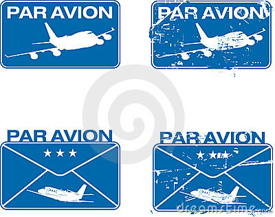 Tampon en caoutchouc 03 d Avion de parité