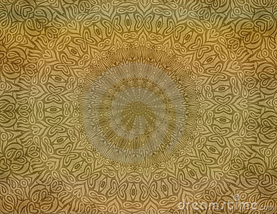 Tan batik background wallpaper