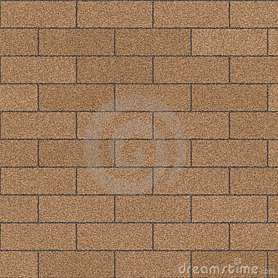 Tan Brick Wall