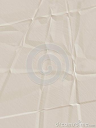 Tan Creased Paper