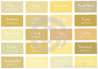 Hazel Brown Paint Color