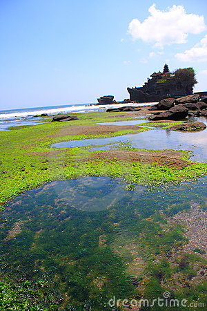 The Tanah Lot Temple, Bali, Indonesia