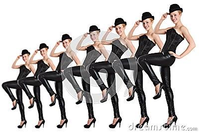 Tancerza przedstawienie