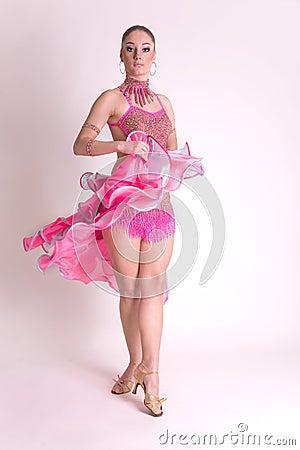 Tancerza ruchu profesjonalista