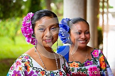 Tancerzy ludu meksykanin Fotografia Editorial
