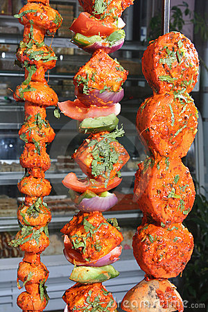 Free Tandoori Vegetables Royalty Free Stock Images - 5210889