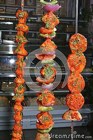 Free Tandoori Vegetables Royalty Free Stock Photos - 5210898