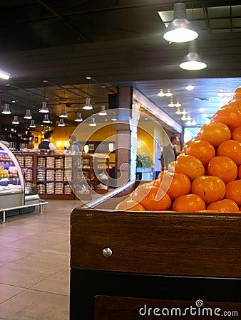 Free Tangerine Basket Stock Image - 4565671