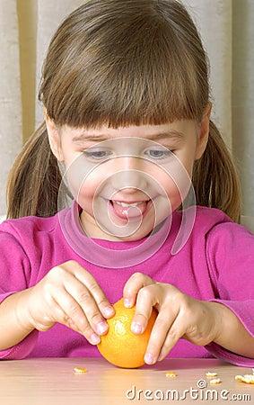 Tangerine Girl.