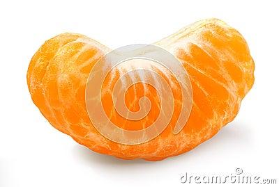 Tangerine segment