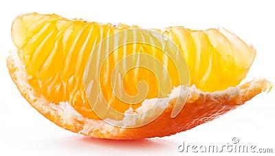 Tangerine slice.