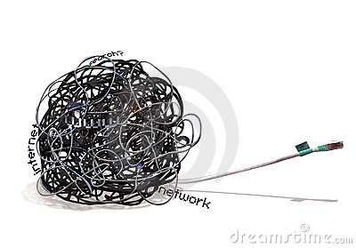 TANGLE Wire Mess
