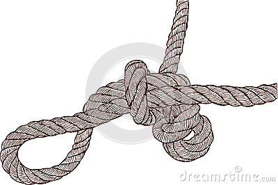 Tangled knot