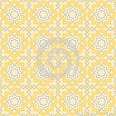 Tangled Lattice Pattern Vector Illustration