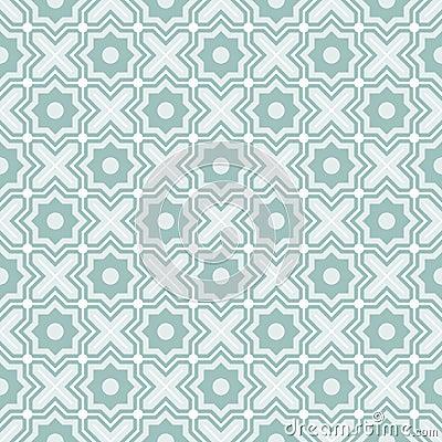 Tangled Lattice Pattern Vector Illustration