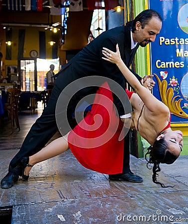 Tango Redactionele Afbeelding