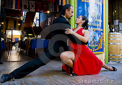 Tango Editorial Stock Photo