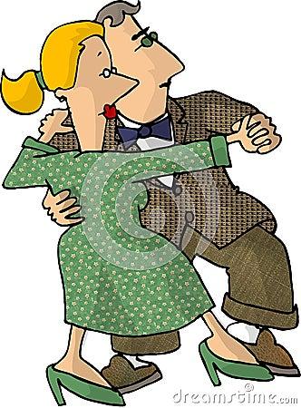 Tango couple