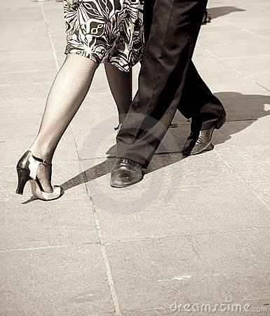 Free Tango Dancers Royalty Free Stock Image - 8552826