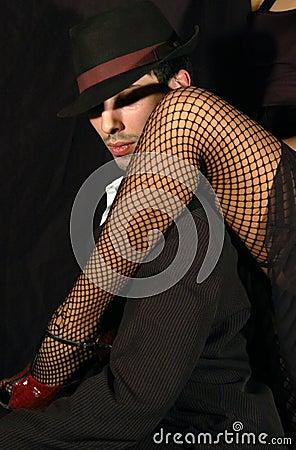 Free Tango Leg Stock Photos - 4108703