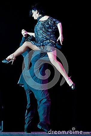Tango Pasion, Ultimo Tango Show Editorial Stock Photo