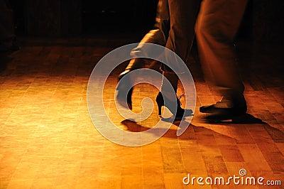 Tango rehearsal