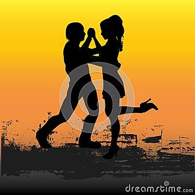 Tango Sunset
