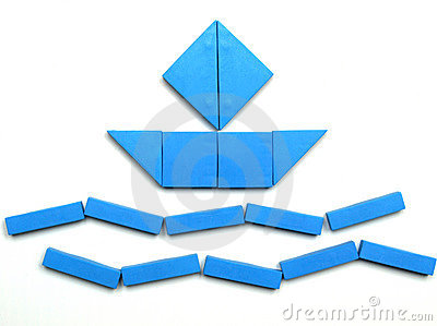 Tangram Stock Photo - Image: 8086770