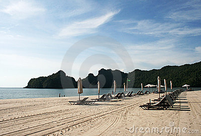 Tanjung Rhu Beach on Langkawi island