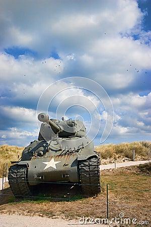 Tank Editorial Photo