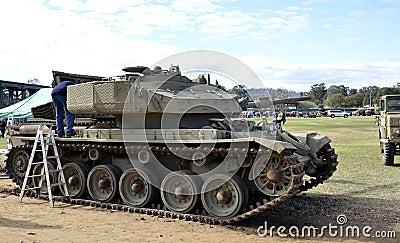 Tank. Editorial Photo