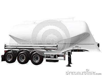 Tank car trailer