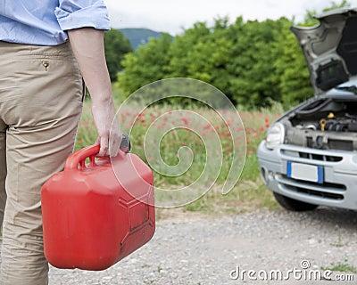 Tank fuel car