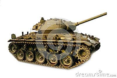 Tank, M-26 Chaffee