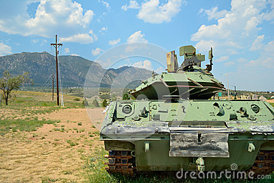 Tank in the Mountains
